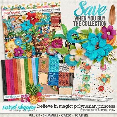 Beleive in Magic: Polynesian Princess Collection by Amber Shaw & Studio Flergs