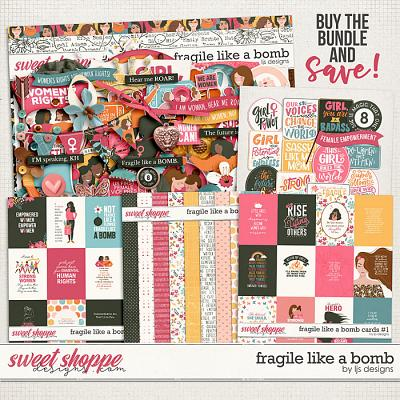 Fragile Like A Bomb Bundle by LJS Designs