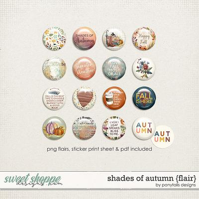 Shades of Autumn Flair by Ponytails