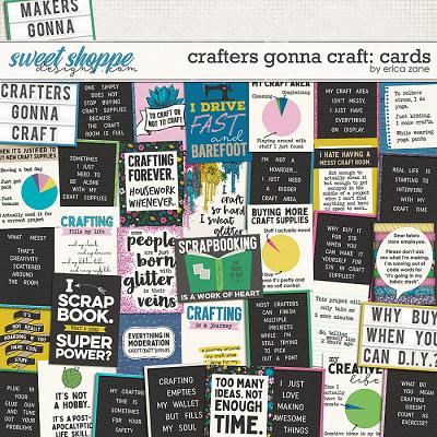 Crafters Gonna Craft: Cards by Erica Zane