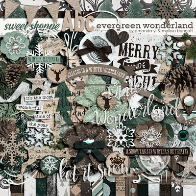 Evergreen Wonderland by Amanda Yi & Melissa Bennett