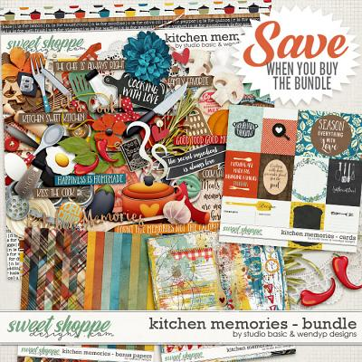 Kitchen Memories Bundle by Studio Basic and WendyP Designs