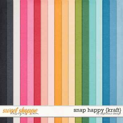 Snap Happy {Kraft} by Digilicious Design