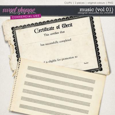 Music {Vol 01} by Christine Mortimer