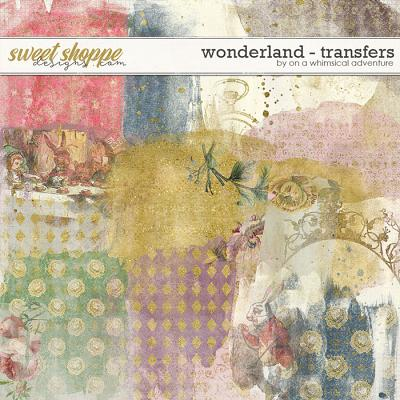Wonderland Transfers by On A Whimsical Adventure