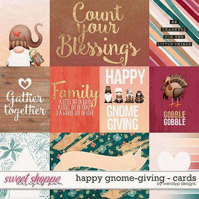 Happy Gnome-giving - Cards by WendyP Designs