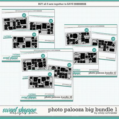 Cindy's Layered Templates - Photo Palooza Big Bundle 1 by Cindy Schneider