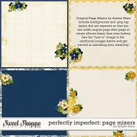 Perfectly Imperfect Page Mixers by Amber Shaw