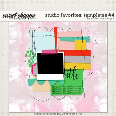 Studio Favorites: Templates #4 by Studio Basic