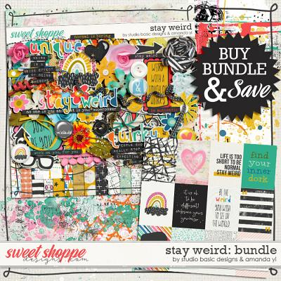 Stay Weird Bundle by Amanda Yi & Studio Basic Designs