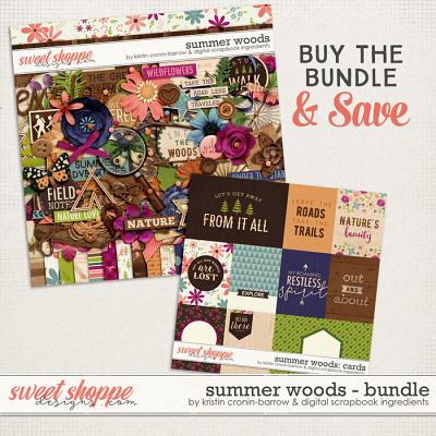 Summer Woods: Bundle by Kristin Cronin-Barrow & Digital Scrapbook Ingredients