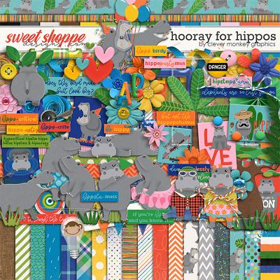 Hooray for Hippos by Clever Monkey Graphics