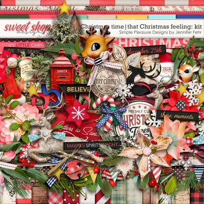 Christmas time | that Christmas feeling kit: simple pleasure designs by jennifer fehr