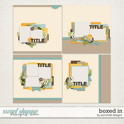 Boxed In by Ponytails Designs
