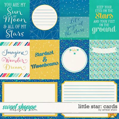 Little Star Cards by Amber Shaw