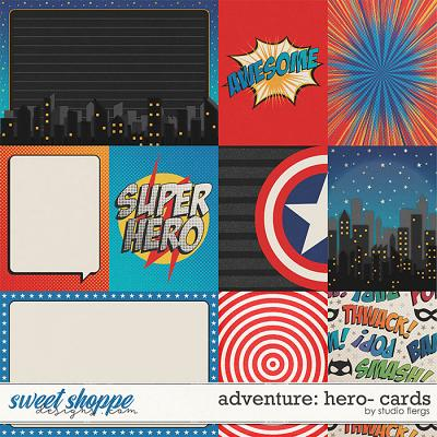 Adventure: Hero- CARDS by Studio Flergs