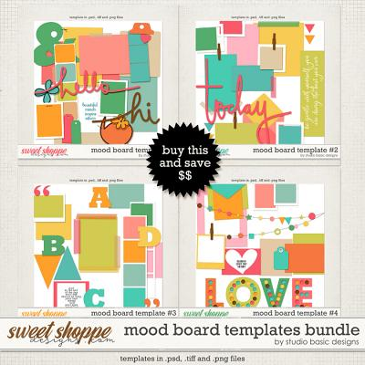 Mood Board Templates Bundle by Studio Basic