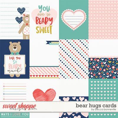 Bear Hugs Cards by Becca Bonneville
