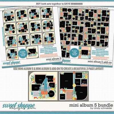 Cindy's Layered Templates - Mini Album 5 Bundle by Cindy Schneider