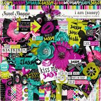 I Am {Sassy}-Kit by Digilicious Designs & Meghan Mullens