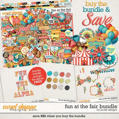 Fun At The Fair Bundle with FWP Alphas by JoCee Designs