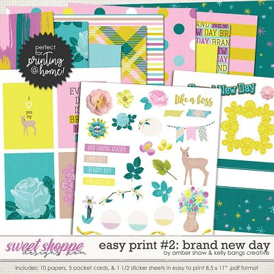 Brand New Day: Easy Print 2 by Amber Shaw & Kelly Bangs Creative