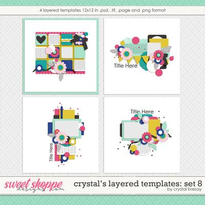 Crystal's Layered Templates Set 8 by Crystal Livesay