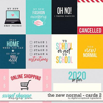 The New Normal   Cards 2 by Digital Scrapbook Ingredients