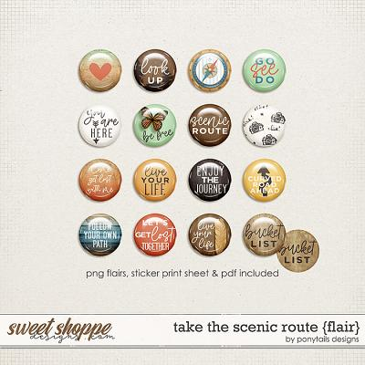 Take the Scenic Route Flair by Ponytails