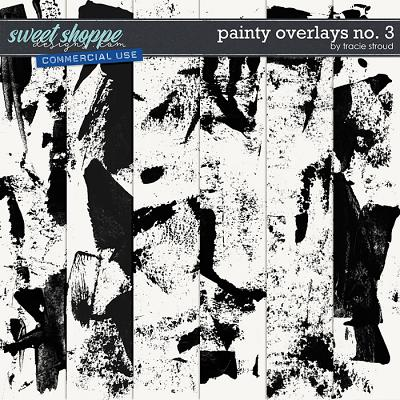 CU Painty Overlays no. 3 by Tracie Stroud