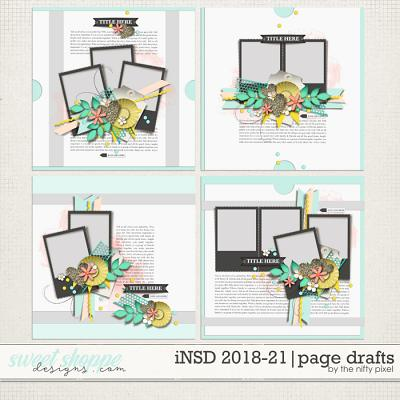iNSD 2018-2021 | PAGE DRAFTS by The Nifty Pixel