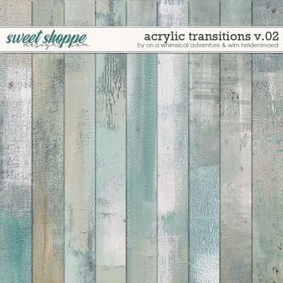 Acrylic Transitions Mixed Media Paperpack Vol02 by On A Whimsical Adventure