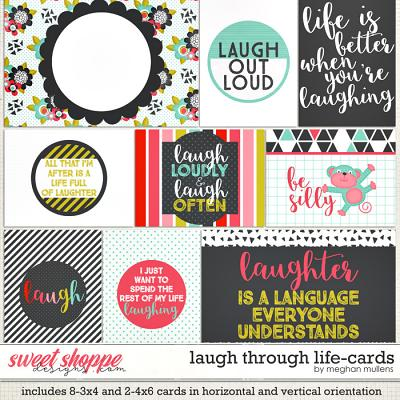 Laugh Through Life-Cards by Meghan Mullens