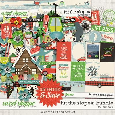 *FWP* Hit The Slopes Collection by Traci Reed