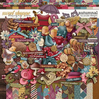 Autumnal Kit by JoCee Designs