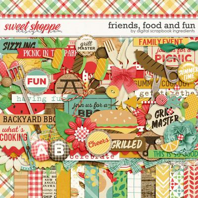Friends, Food And Fun by Digital Scrapbook Ingredients