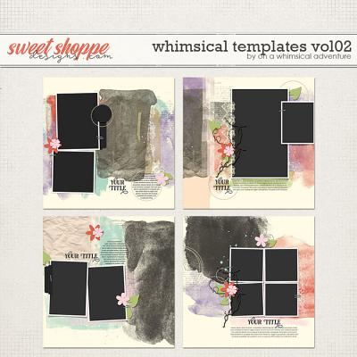 Whimsical Templates Vol02 by On A Whimsical Adventure