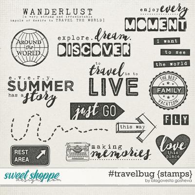 #travelbug {stamps} by Blagovesta Gosheva