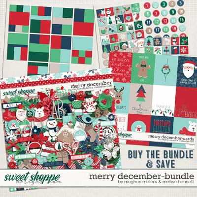 A Merry December-Bundle by Melissa Bennett and Meghan Mullens