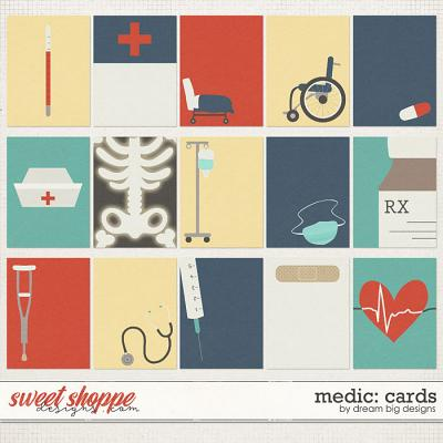 Medic: Cards by Dream Big Designs