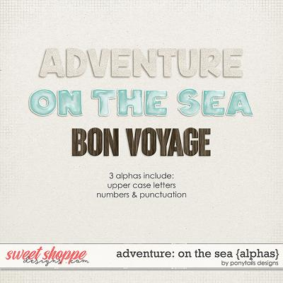 Adventure: On the Sea Alphas by Ponytails