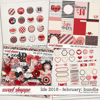 Life 2016-February Bundle by Melissa Bennett