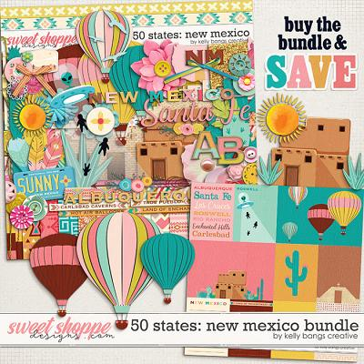 50 States: New Mexico Bundle by Kelly Bangs Creative