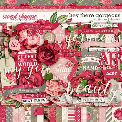 Hey There Gorgeous by Kristin Cronin-Barrow
