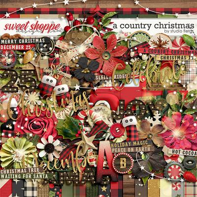 A Country Christmas: by Studio Flergs