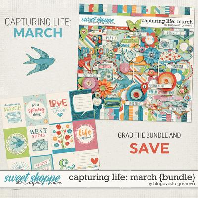 Capturing life: March {Bundle} by Blagovesta Gosheva