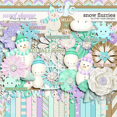 Snow Flurries by River Rose Designs