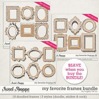My Favorite Frames Bundle by Sugary Fancy