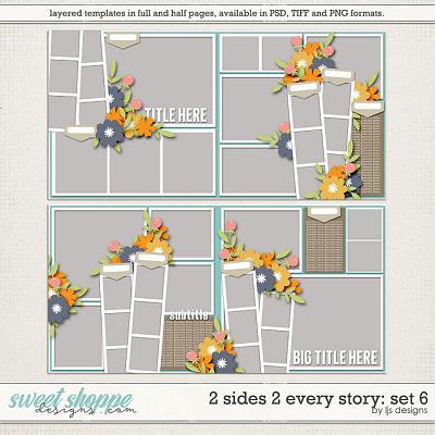 2 Sides 2 Every Story: Set 6 by LJS Designs