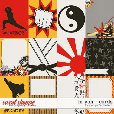 Hi-Yah! : Cards by Meagan's Creations